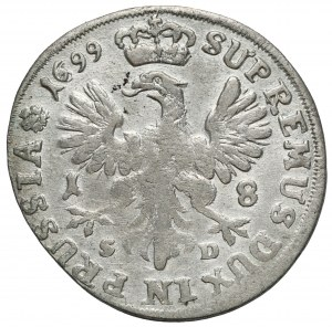 Brandenburg-Preussen, Friedrich III, Ort Königsberg 1699 SD