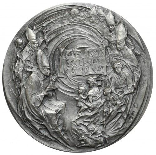 Medal, Jan Paweł II, Anno XV - CATECHISMUS ECCLESIAE CATHOLICAE