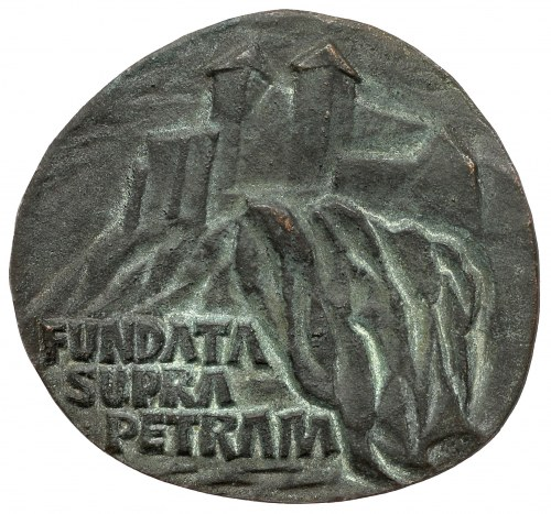 Medal 900. lat Opactwa Benedyktynów w Tyńcu 1975