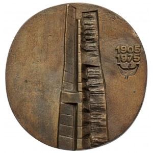 Medal, Pomnik Czynu Rewolucyjnego w Łodzi 1905-1975