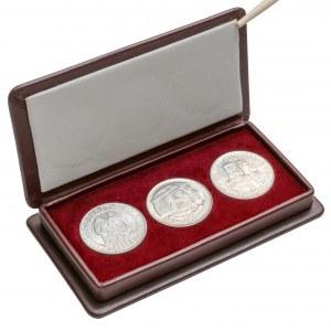 100 złotych 1966 Mieszko i Dąbrówka - 3 typy w etui
