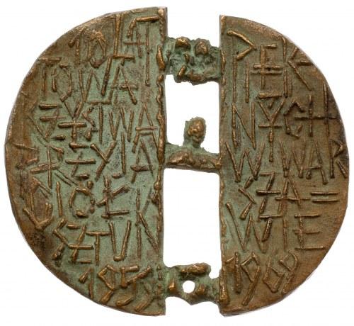 Medal 10 lat T-wa Przyjaciół Sztuk Pięknych w Warszawie 1969