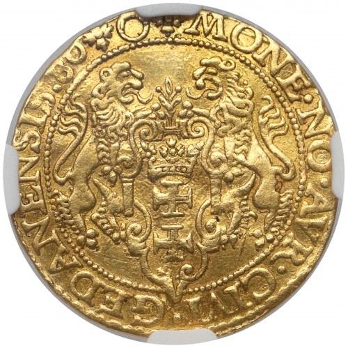 Stefan Batory, Dukat Gdańsk 1580 - RZADKI rok