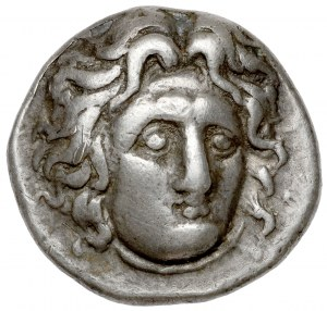 Grecja, Karia, Rodos (305-275 p.n.e.) Didrachma