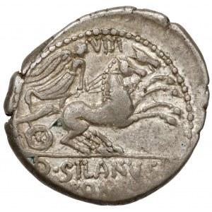 Republika, D. Silanus L. f. (91 p.n.e.) Denar