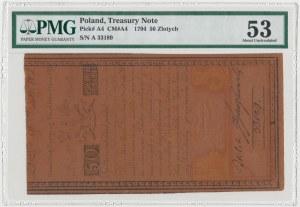 50 złotych 1794 - A - herbowy znak wodny