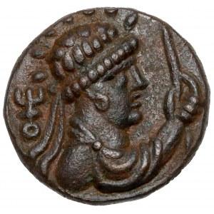 Królestwo Kuszan, Soter Megas (55-105 n.e.) Taxila, Tetradrachma
