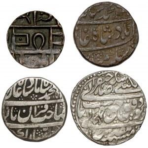 Indie, zestaw monet (4szt)