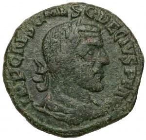 Trajan Decjusz (249-251 n.e.) Moesia Superior, Viminacjum, AE 28