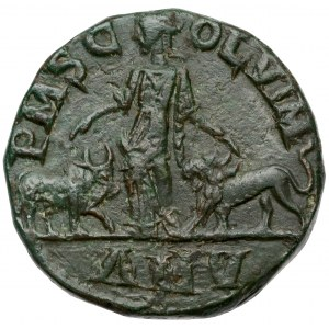 Filip I Arab (244-249 n.e.) Moesia Superior, Viminacjum, AE 28