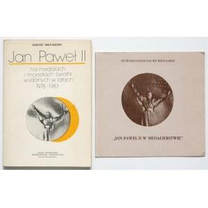Jan PaweŁ II na medalach i monetach świata w latach 1978-83 (2szt)