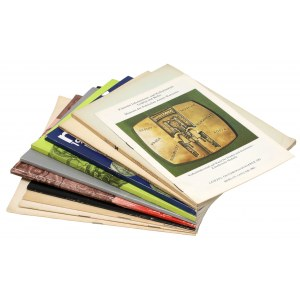 Medale - zestaw 11 szt. publikacji