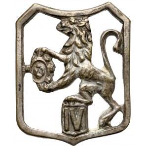 Znaczek PSZnZ, 6 Dywizji Piechoty - IV Pułk Marszowy(?)