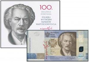 19 złotych 2019 - 100. rocznica PWPW - w folderze PWPW