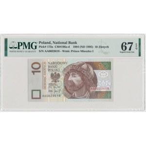 10 złotych 1994 - AA