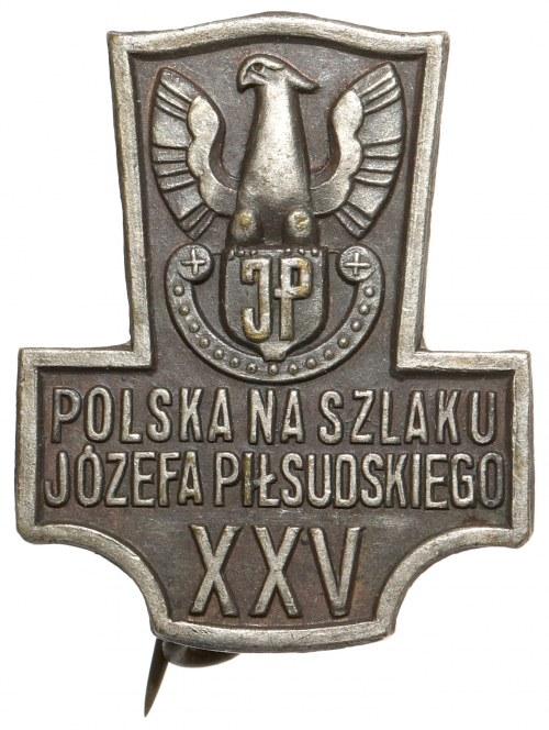 Odznaka, Polska na szlaku Józefa Piłsudskiego XXV