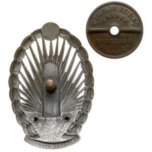 Odznaka Korpus Ochrony Pogranicza - klejony orzeł