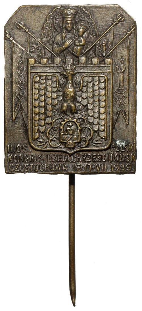 II Og. Polski Kongres Rzem. Chrześcijańsk - Częstochowa 16-17.VII 1939