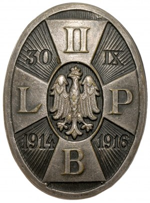 Odznaka, 2 Brygada Piechoty Legionów