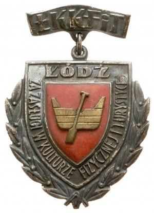 PRL, Odznaka za Zasługi w Kulturze Fizycznej i Turystyce - Łódź