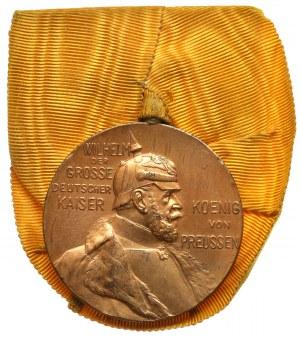 Prusy, Medal na 100-lecie urodzin Wilhelm I, 1797 - 22 marzec - 1897