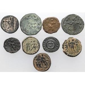 Zestaw monet antycznych - Grecja i Rzym (9szt)