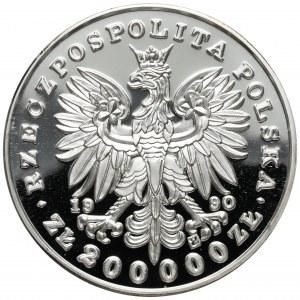 DUŻY Tryptyk 200.000 złotych 1990 Chopin