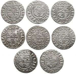 Półtoraki Zygmunta III Wazy - 1622-1625 - b.ładne (8szt)