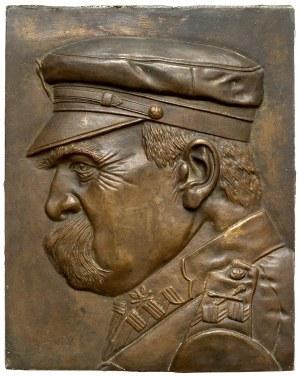 Plakieta Józef Piłsudski - DUŻA (25 x 31 cm)