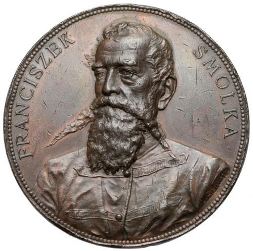 Medal, Franciszek Smolka / W uczczeniu... 1895