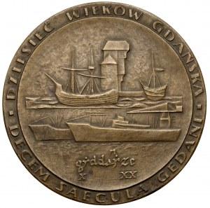 Medal, Dziesięć Wieków Gdańska X - XX, Lipiec 1962