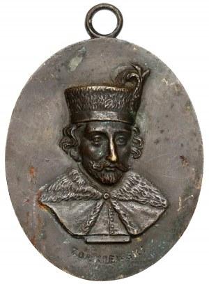 Medalion MINTER Stanisław Żółkiewski - owalny 6x7cm