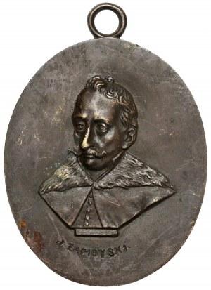 Medalion MINTER Jan Zamoyski - owalny 6x7cm