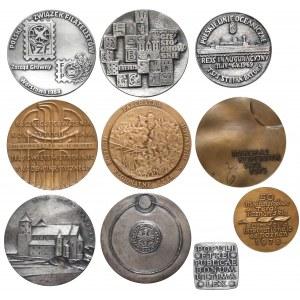 Zestaw medali polskich MIX (10szt)