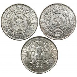 100 złotych 1966 Mieszko i Dąbrówka - 3 typy