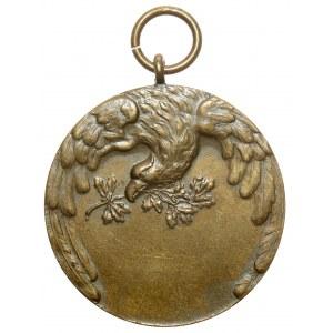 Medal nagrodowy IX Bieg... Stadjon 1928 (Nagalski)