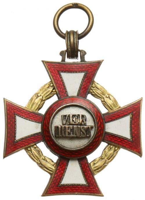 Austro-Wegry, Franciszek Józef I, Krzyż Zasługi Wojskowej