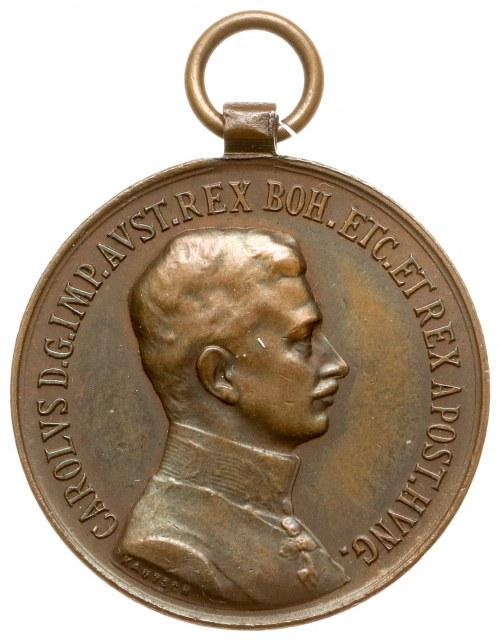 Austro-Wegry, Karol, Medal za Odwagę - brązowy