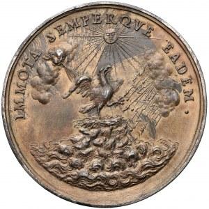 Medal Michał Kazimierz Radziwiłł 1680 (Höhn) - późniejsze wykonanie