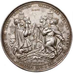 Jan III Sobieski, Medal oswobodzenie Wiednia 1683 - rzadki i efektowny