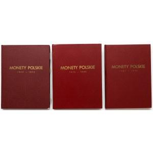 Monety Polskie 1949-1990 - MENNICZE - niepełne (3szt)