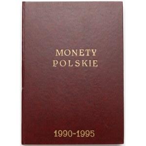 Monety Polskie 1990-1995 KOMPLET