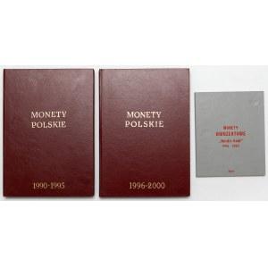 Monety Polskie 1990-2003, 2 złote GN i obiegowe, niepełne (3szt)