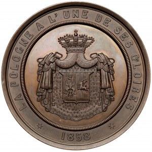 Medal Joachim Lelewel 1858 (Hart)