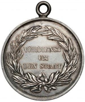 Niemcy, Prusy, Medal za zasługi dla państwa - III klasa