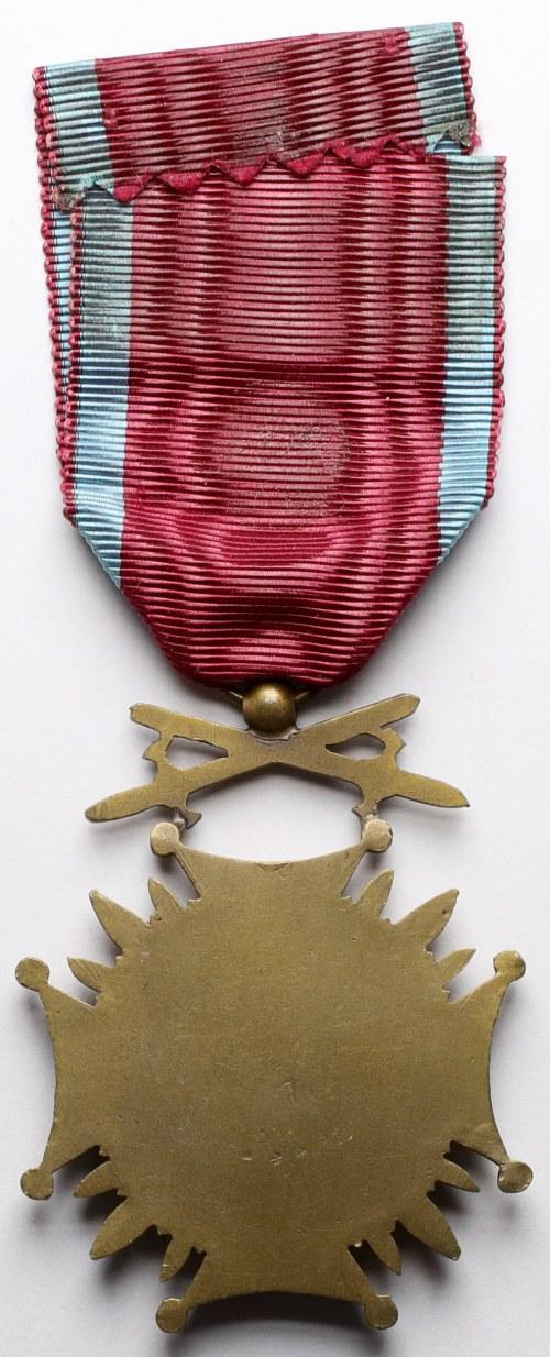 Brązowy Krzyż Zasługi z Mieczami - rzadkie wykonanie M. Delande
