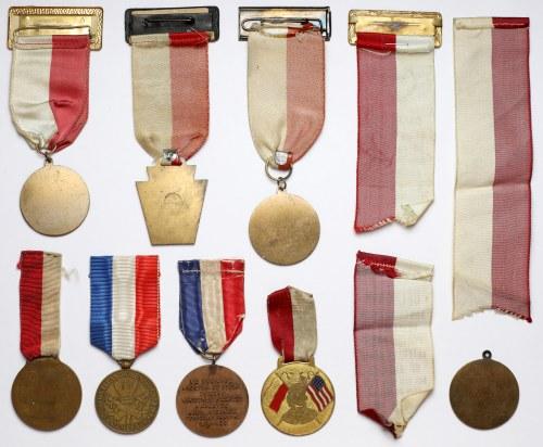 Weterani Armii Polskiej w Ameryce 1927-1971 KOLEKCJA (11szt)