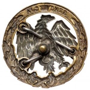 Odznaka PSZnZ, Szkoła Podchorążych Piechoty i Kawalerii Zmotoryzowanej - absolwencka