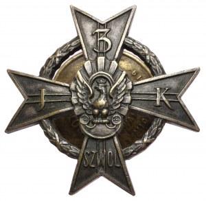 Odznaka pamiątkowa - 3 Pułk Szwoleżerów Mazowieckich, wzór 2 od 1930
