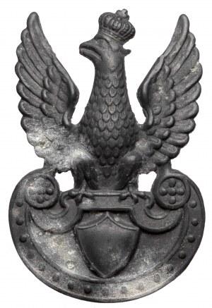 II RP, Orzeł furażerkowy - bity w cynku